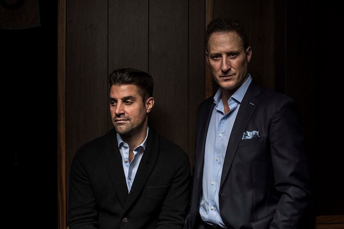 Kevin Boehm (left) and Rob Katz (right) of Boka Restaurant Group. Photo: Entrepreneurial