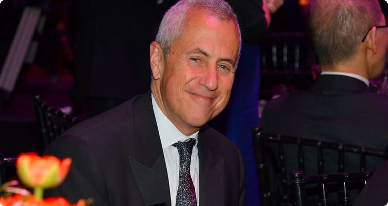 Danny Meyer wearing a suit and tie
