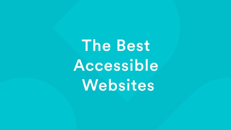 The Best Accessible Websites