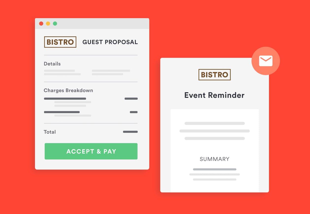 guest proposals and digital payment bentobox events management