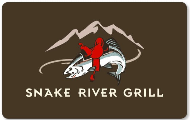 Snake River Grill gift card design