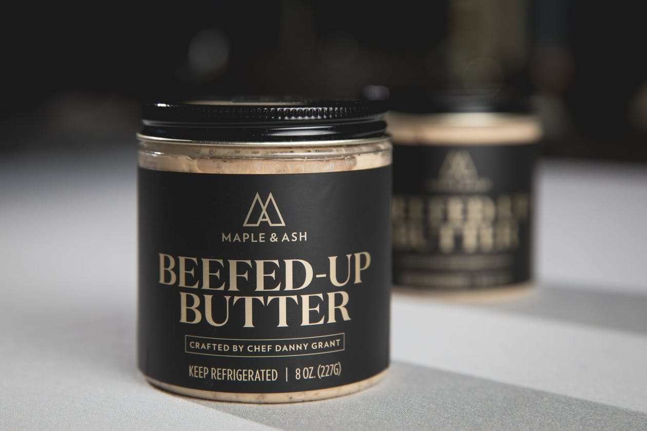 Maple & Ash's Beefed Up Butter