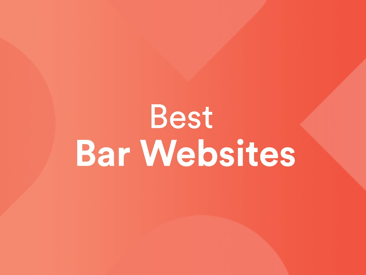 Best Bar Websites Graphic
