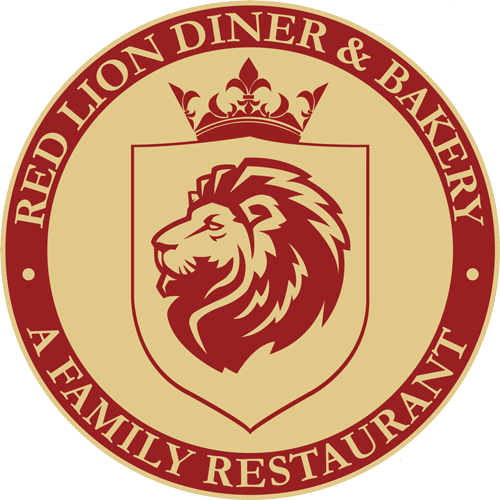 Red lion diner logo