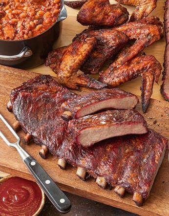 food on the cutting board