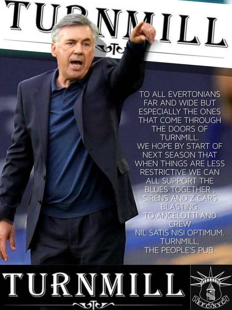 Carlo Ancelotti and text