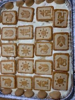 chessmen cookies
