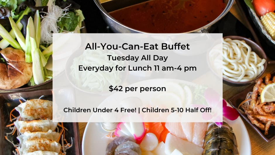 Lunch and Dinner Buffet Options