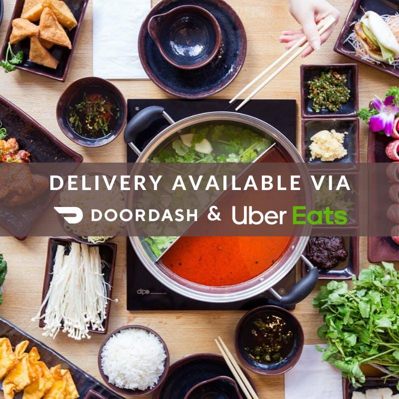 Want your favorite food delivered? Find us on DoorDash or UberEats!