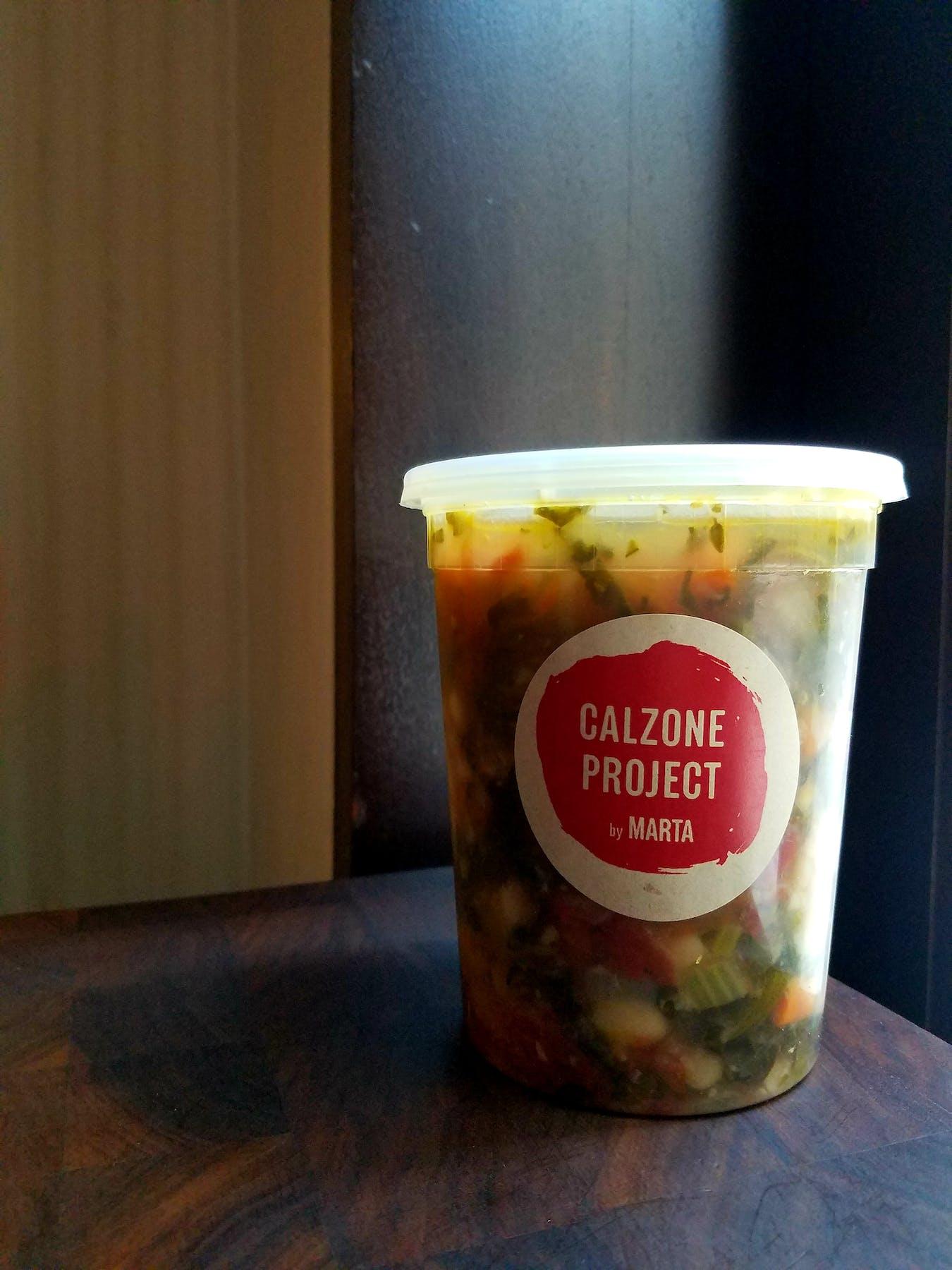 a quart of ribollita soup