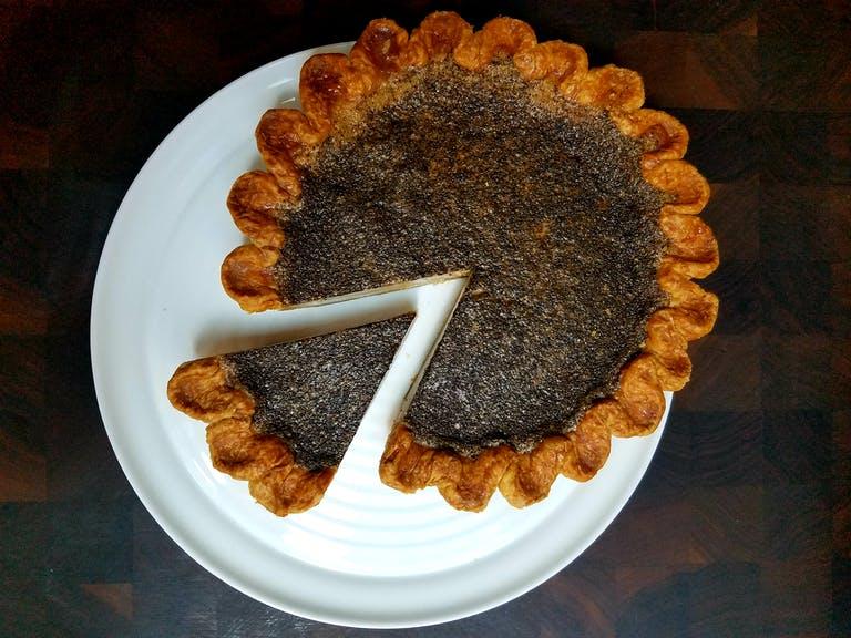 A coffee pie by Four and Twenty Blackbirds