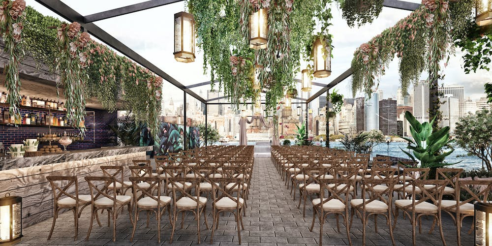 ceremony seating for a wedding