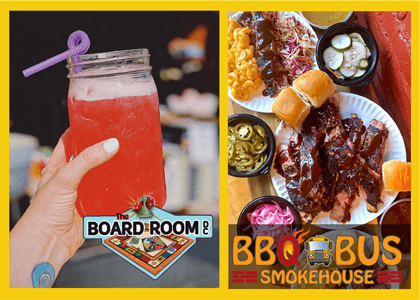 board room dc drink next to bbq bus dc ribs and sides platter promo