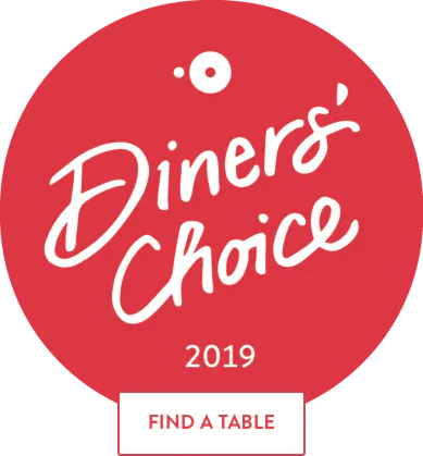 Open Table Diner's Choice Award
