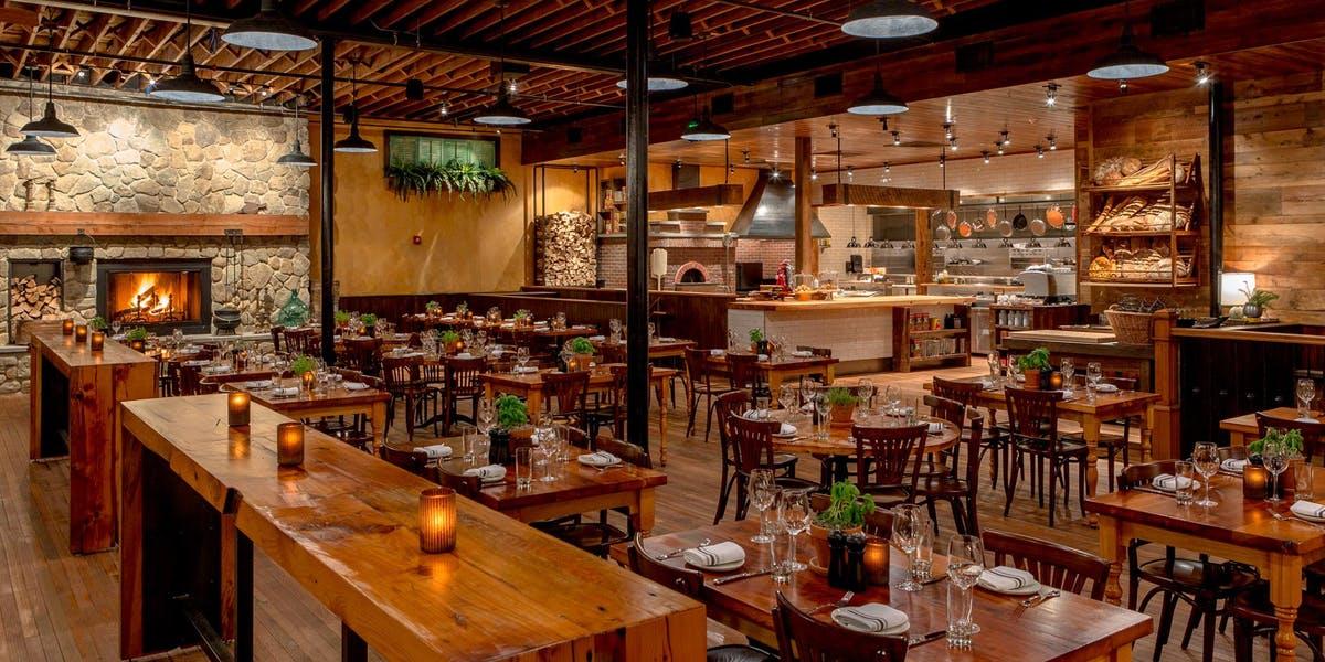Overview Capo Restaurant