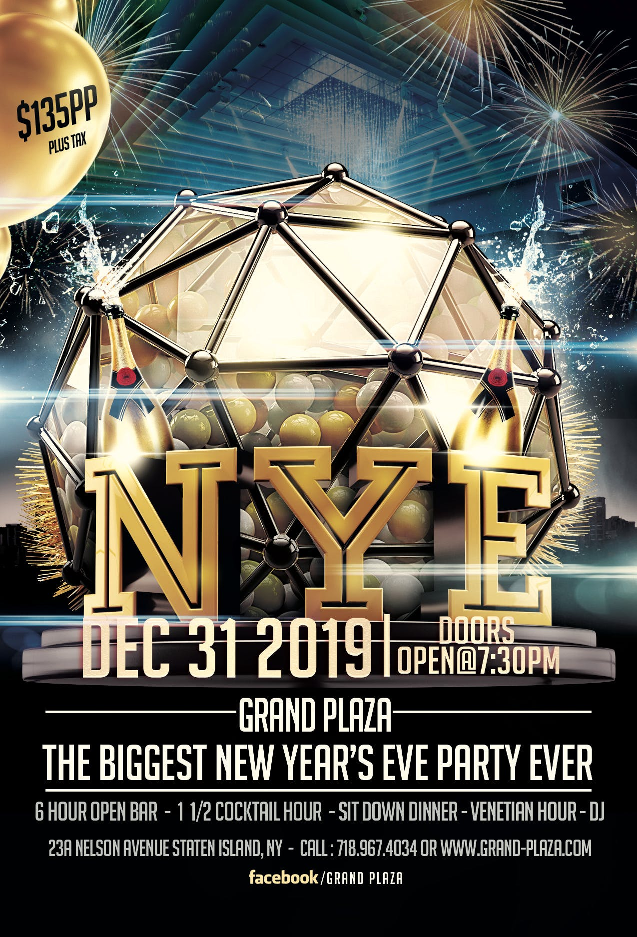 new year's eve flyer title