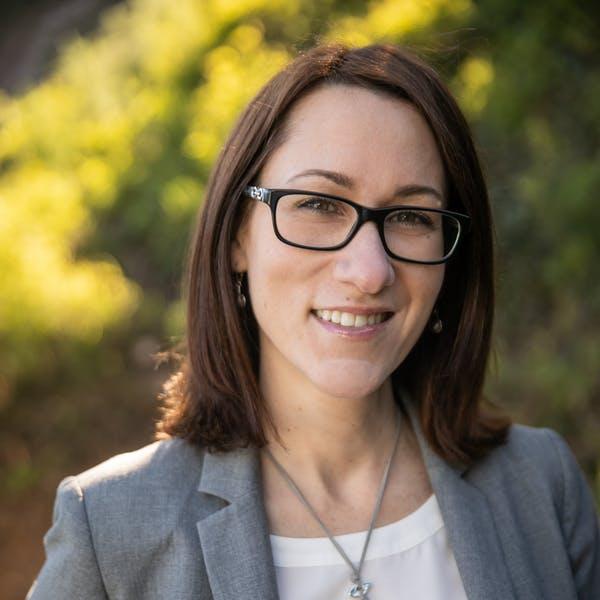 close up of Amy Svendberg the Managing Partner