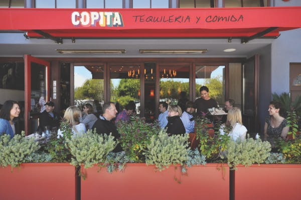 outside copita restaurant