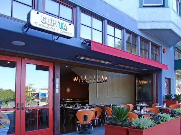 outside copita restaurant