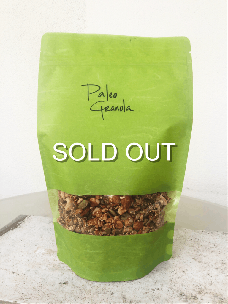 paleo granola sold out