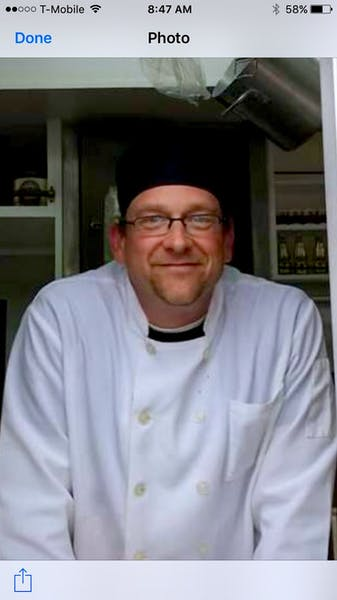 Photo of Executive Chef Steve Harris