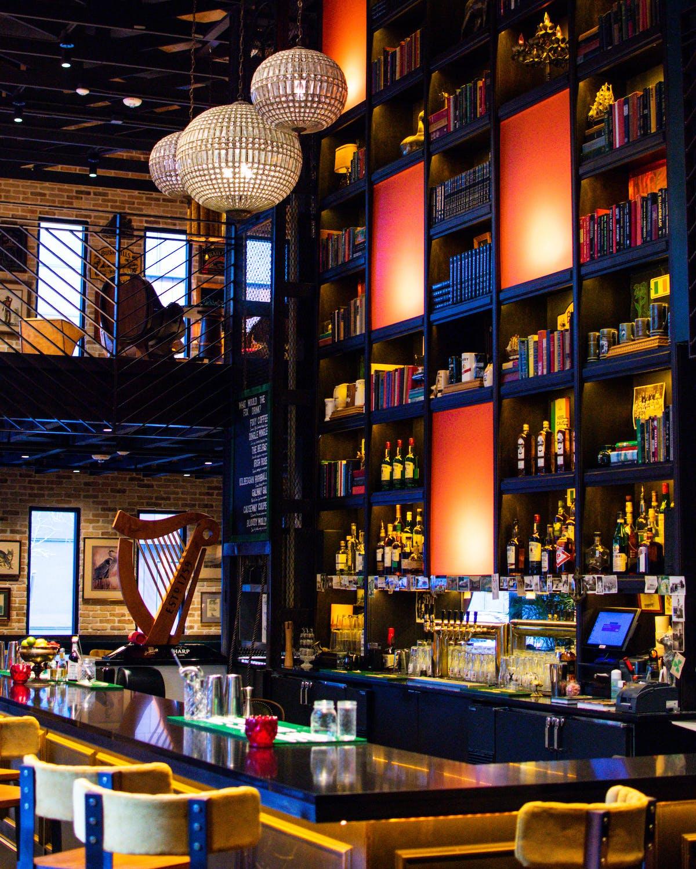 two story irish bar