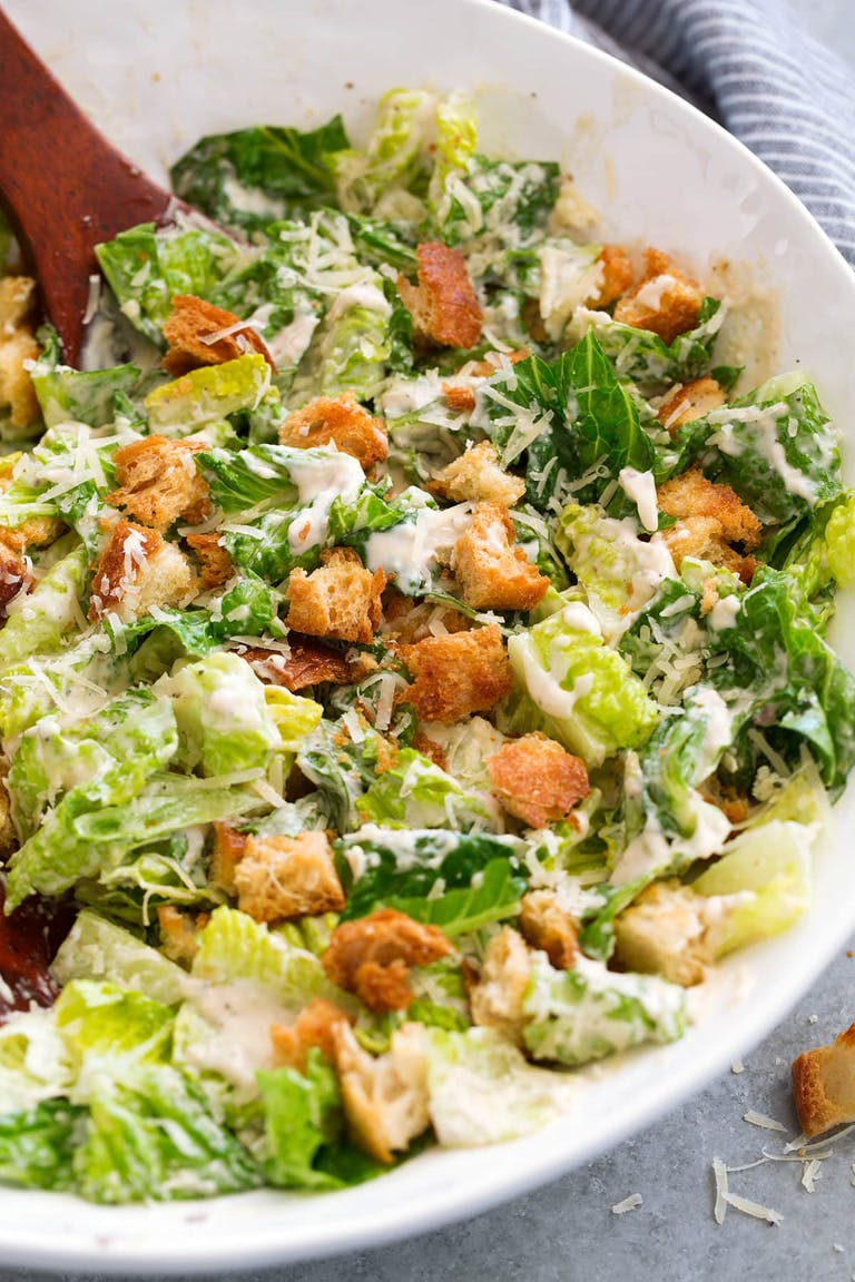 Tossed Salad or Caesar Salad