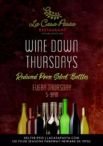 Photo of Wine Down Thursdays