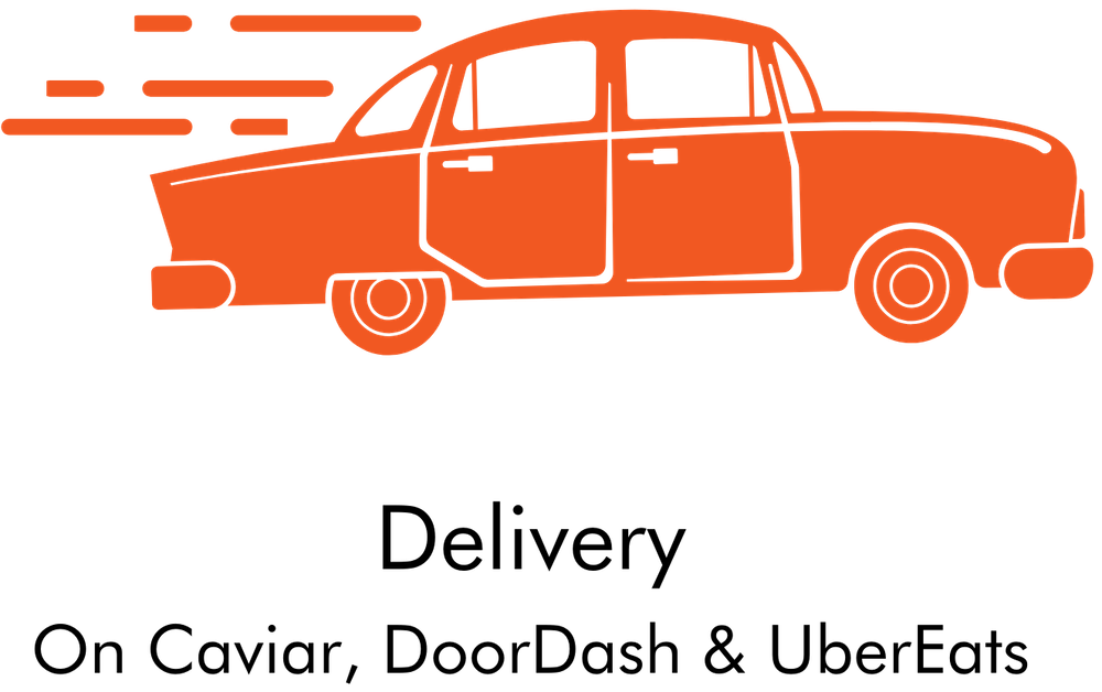 Delivery - a delivery vehicle