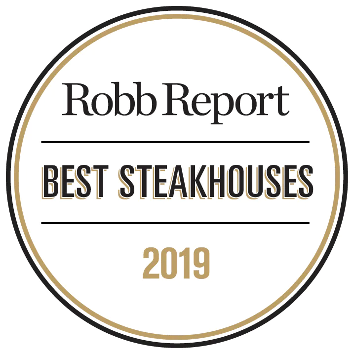 Robb Report Best Steakhouses of 2019 logo