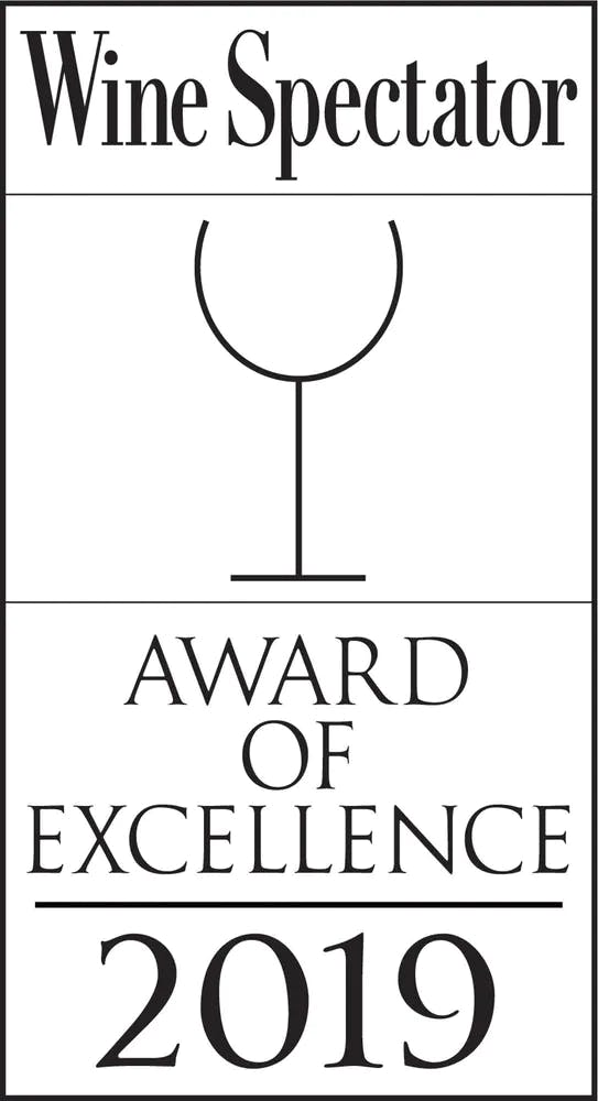 Wine Spectator Award of Excellence of 2019 logo