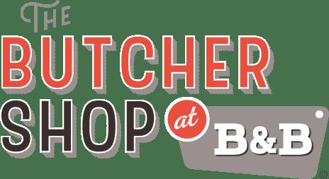 the butcher shop at B&B logo