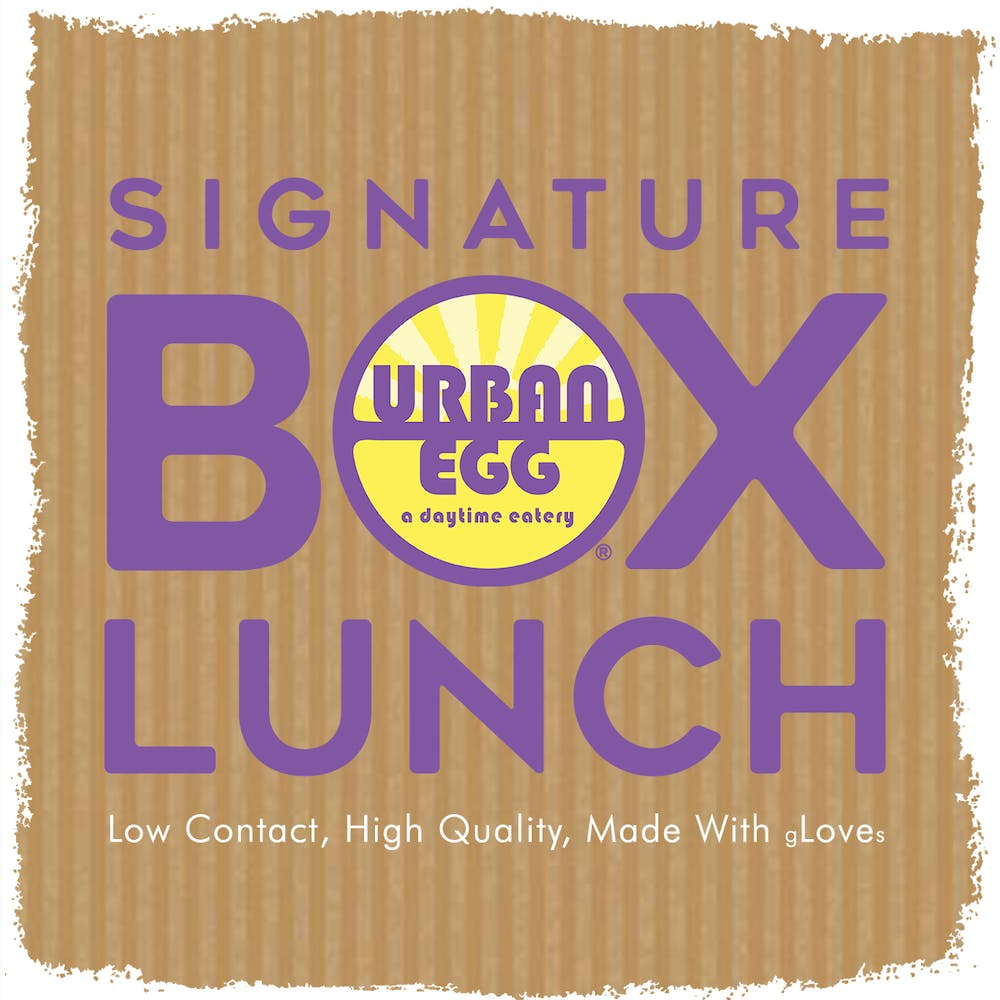 Signature Box Lunch Label
