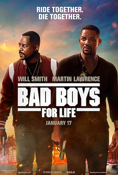 Will Smith, Martin Lawrence in Bad Boys for Life January 17