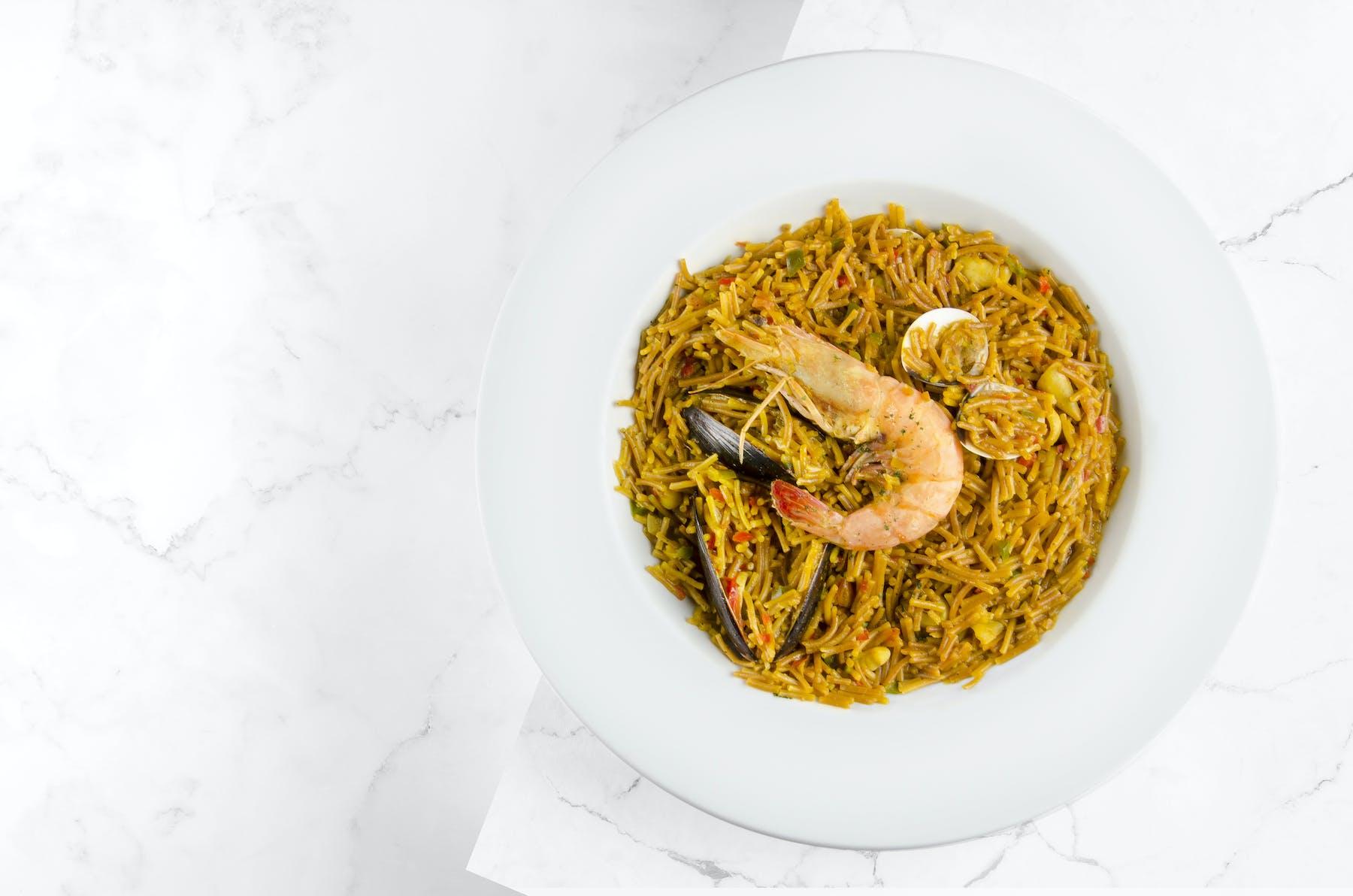 arroz con camamron