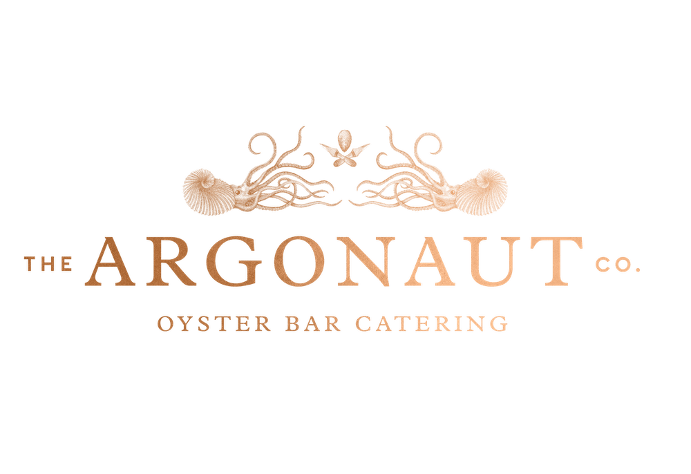 a close up of a the argonaut logo