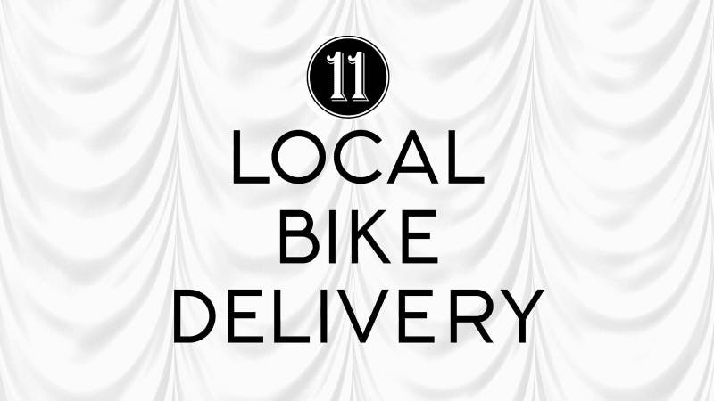 local bike delivery logo