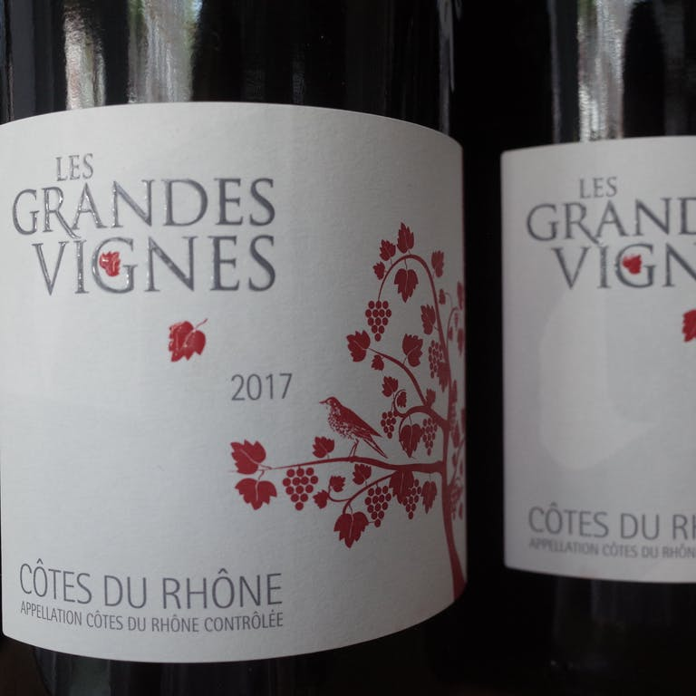 Two bottle Les Grandes Vignes