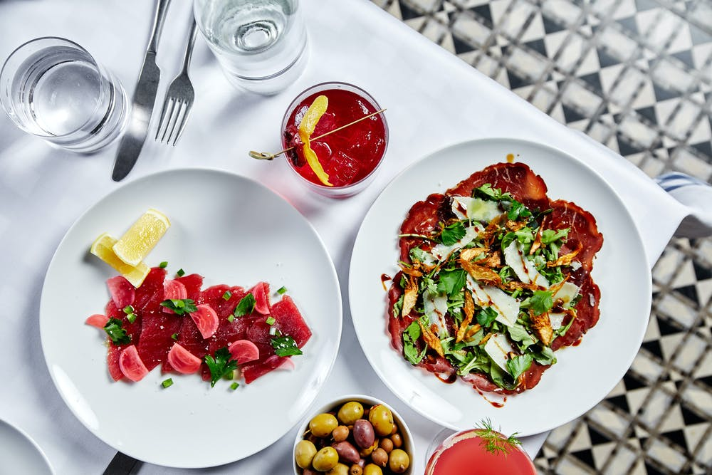 Maialino Mare's seafood focused menu