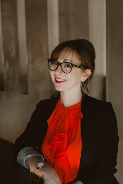 Tara Patrick smiling at the camera