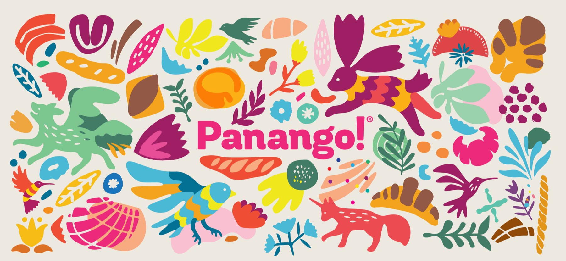 panago colorful artwork