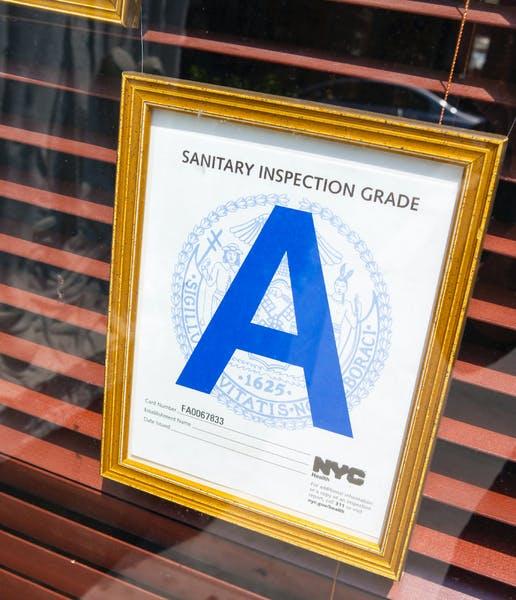 A Letter grade