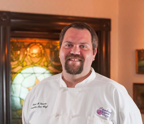 photo of Chef Brian Garvin of the Wild Rose Restaurant