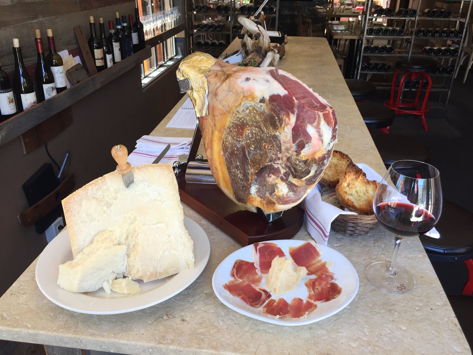 italian prosciutto and cheese in carmel ca