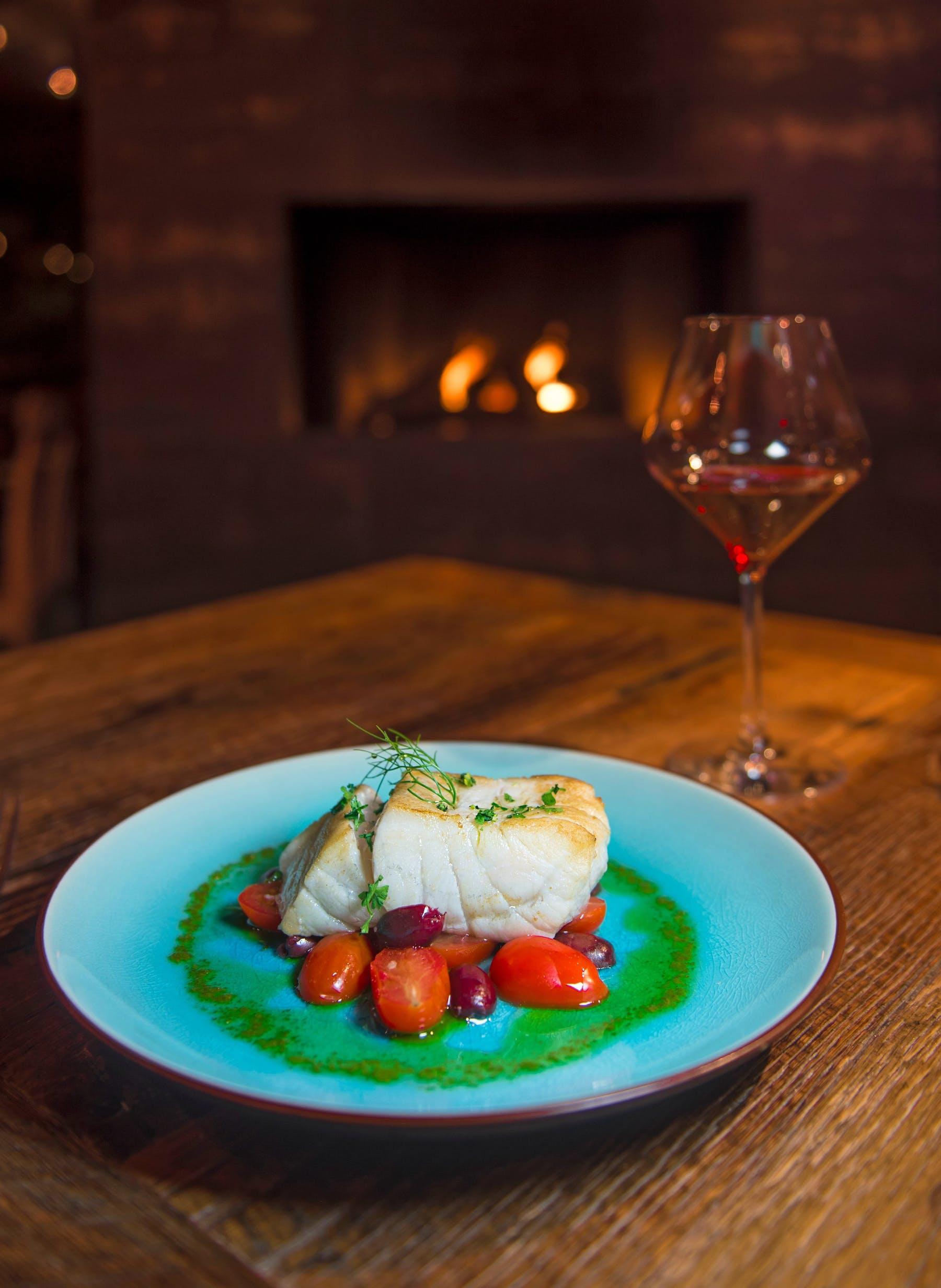 fine italian seafood dish