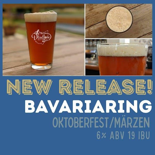 pint of Dead Low Brewing's Bavariaring Oktoberfest Marzen