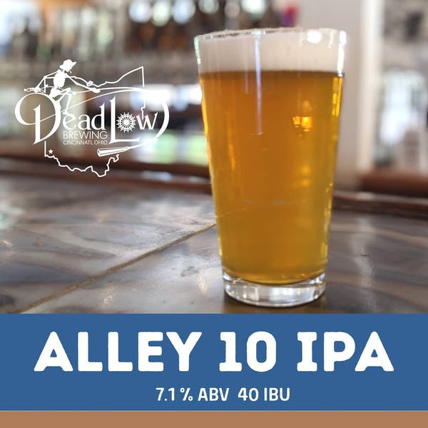 Dead Low Brewing's Alley 10 IPA pint