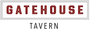 a close up of a logo of Gatehouse Tavern