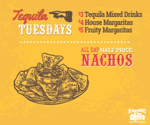 Tequila Tuesday sign