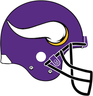 VIKINGS team helmet